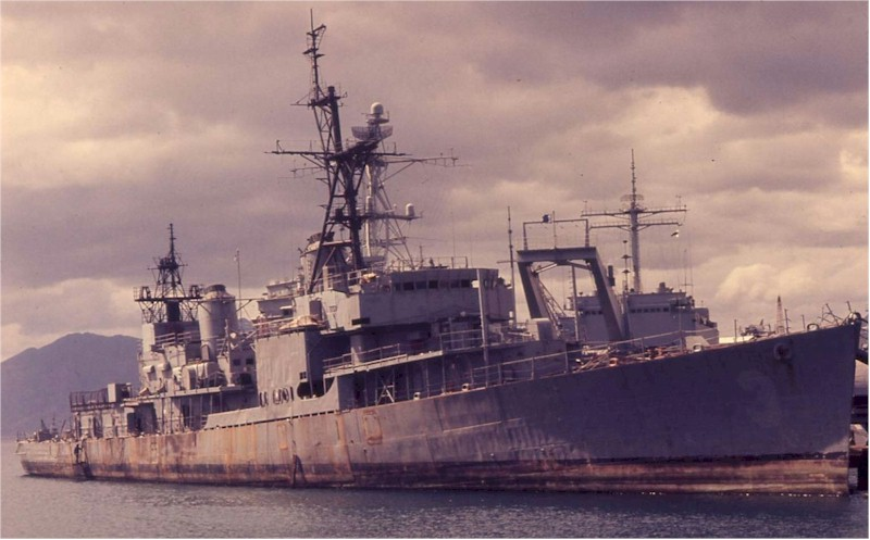 USS Warrington DD 843_Subic_Bay